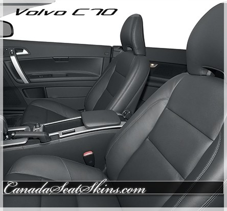 effect seat in seats faux covers rear car volvo leather