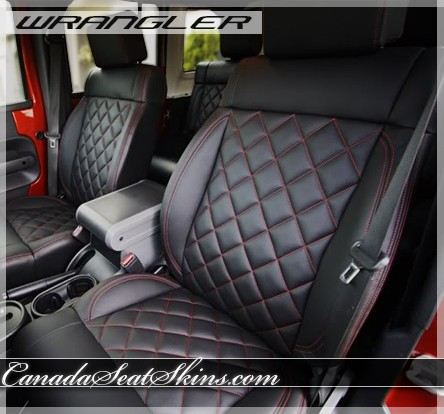 2011 - 2012 Jeep Wrangler Quilted Leather Upholstery : quilted leather seats - Adamdwight.com