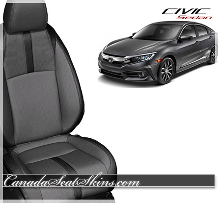 2016 2018 honda civic sedan leather upholstery