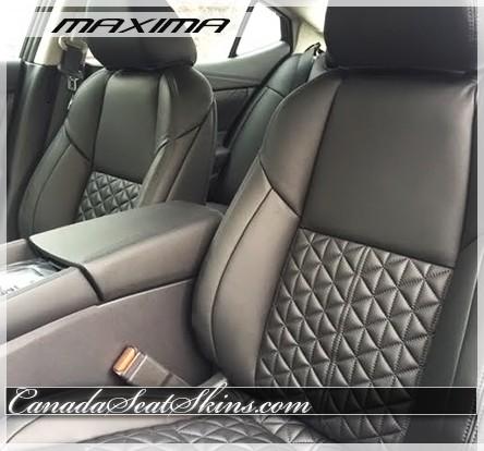 2016 Nissan Maxima Diamond Stitched Leather