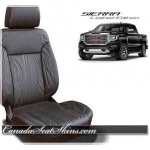 2014 2018 Sierra Leather Upholstery
