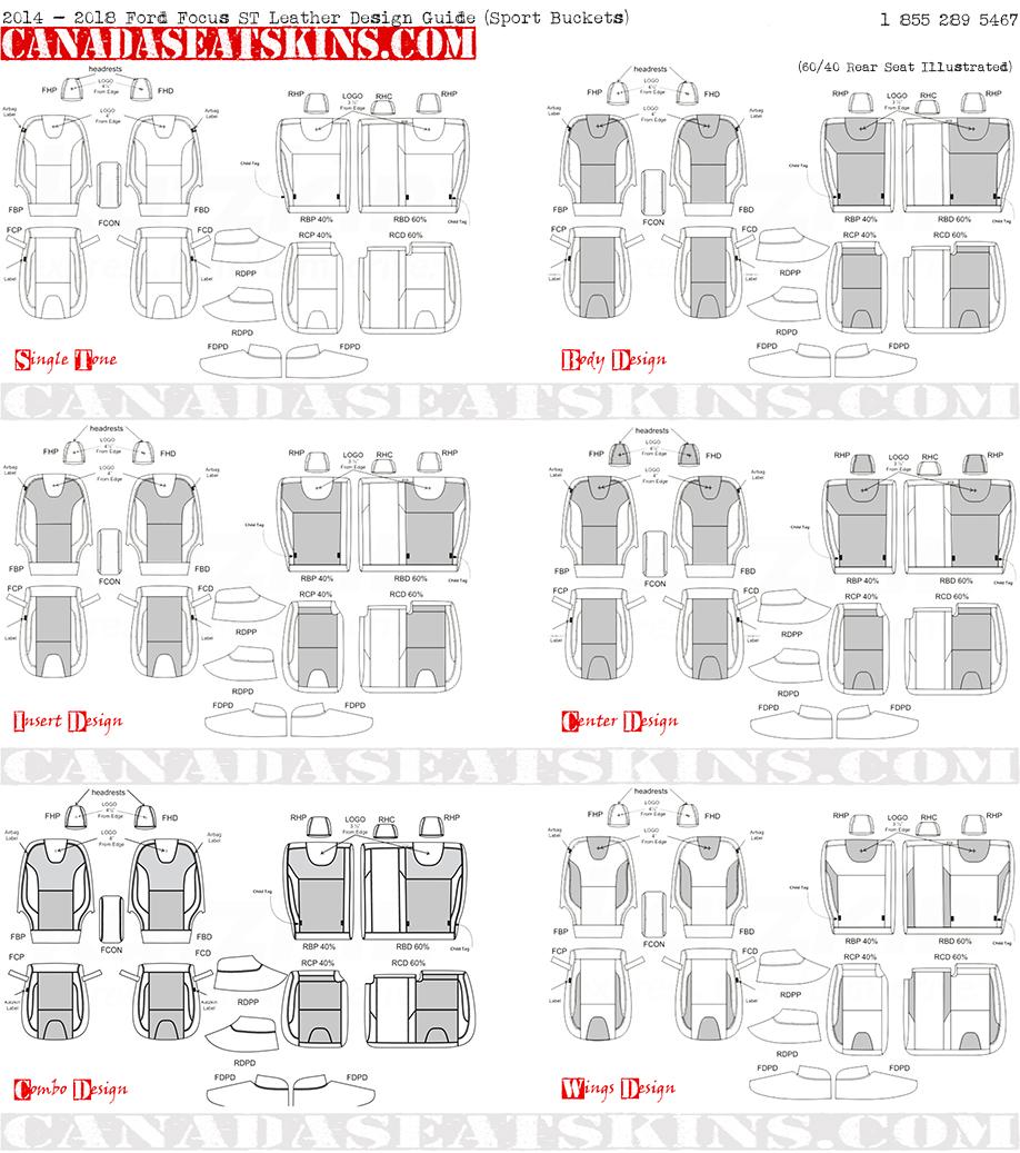 2012 2014 ford focus custom katzkin leather upholstery for Interior design guide