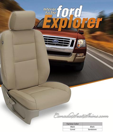 2006 2010 Ford Explorer Custom Leather Upholstery