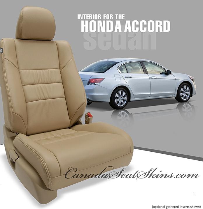 honda accord custom leather upholstery