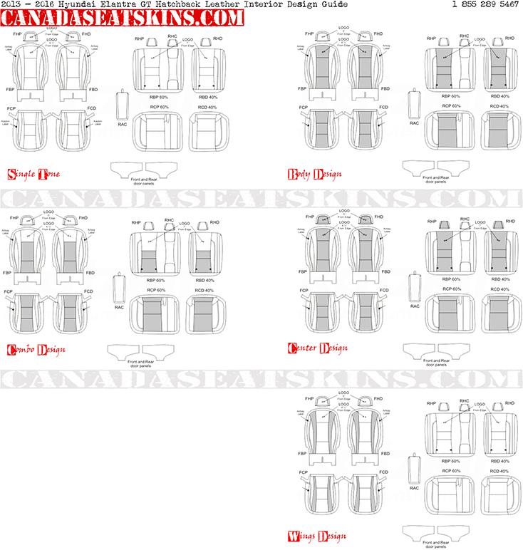 2011 2016 hyundai elantra sedan leather upholstery rh canadaseatskins ca