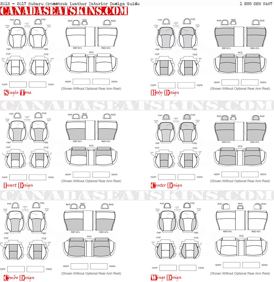 2013 2017 Subaru Crosstrek Custom Leather Upholstery