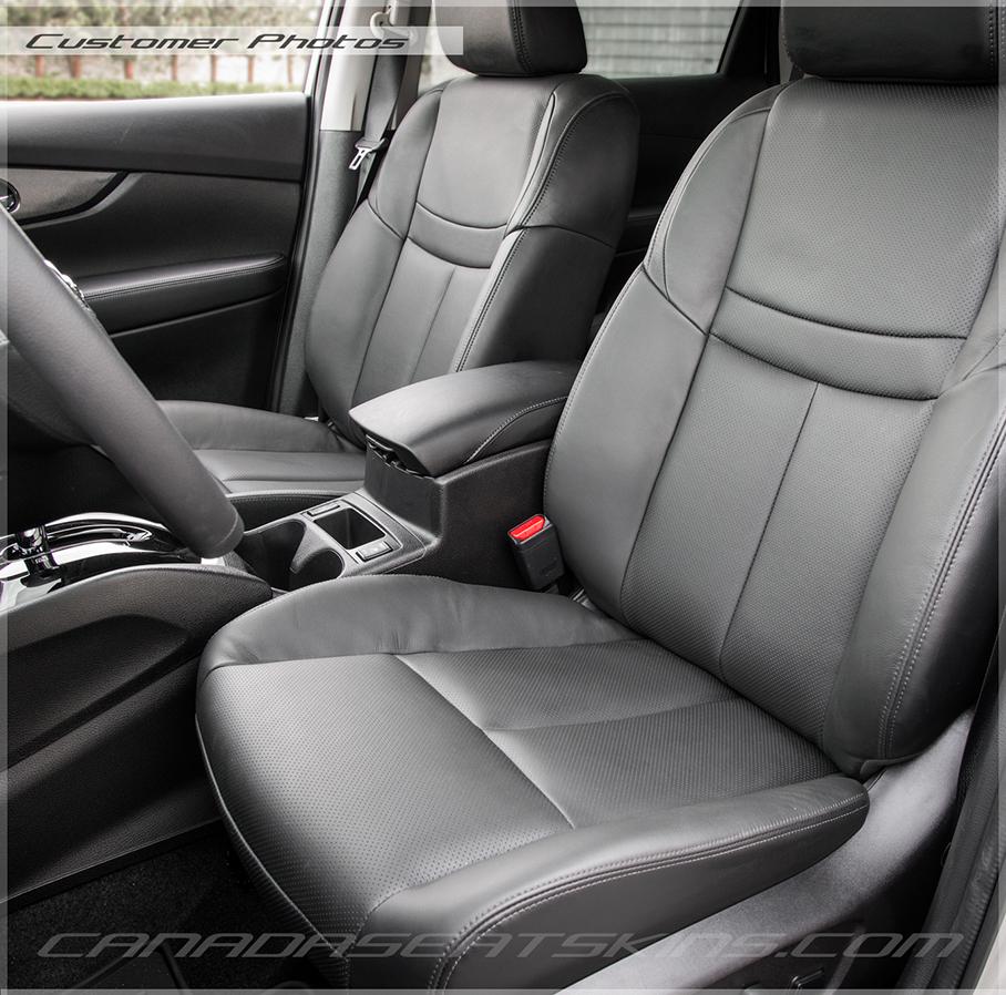 Nissan Rogue Black Leather Interior Customer Photo ...