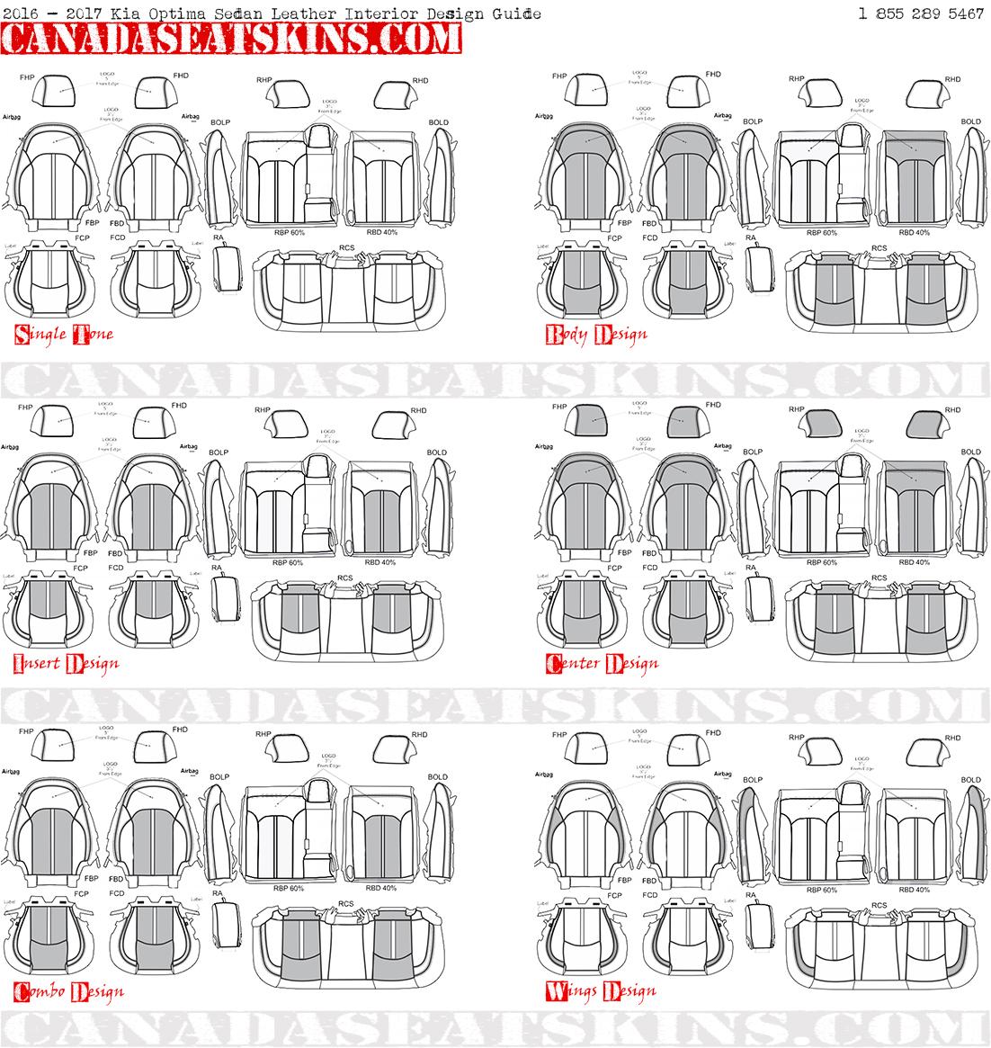2016 Kia Optima Interior: 2019 Kia Optima Custom Leather Upholstery