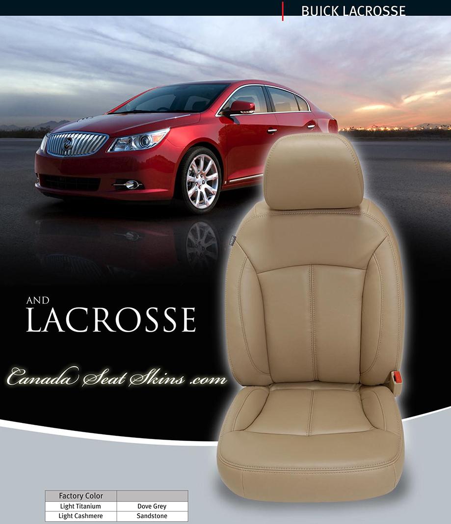 2013 Buicks: 2013 Buick Lacrosse Katzkin Leather Upholstery