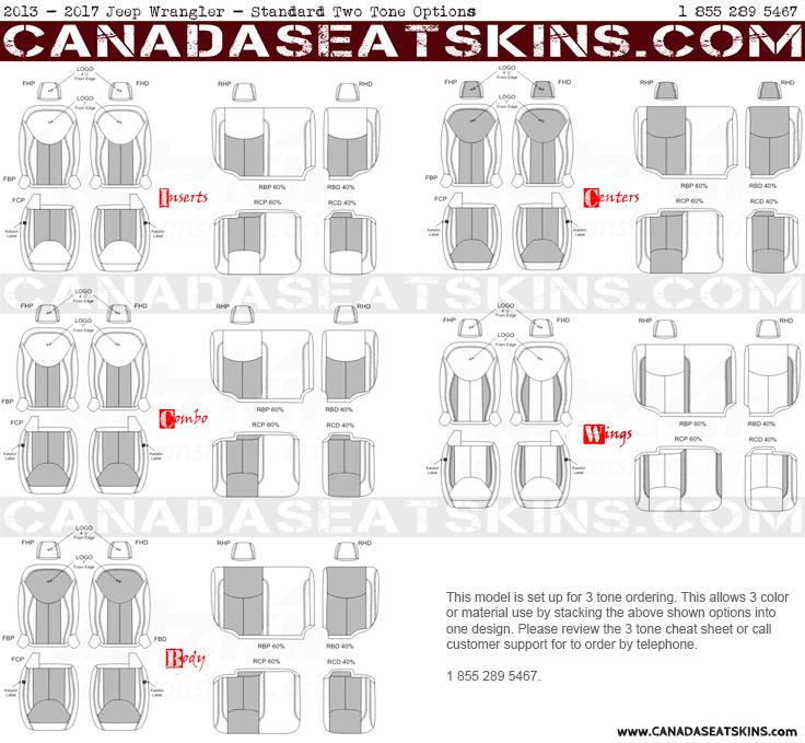 2013 2017 Jeep Wrangler Katzkin Custom Leather Upholstery