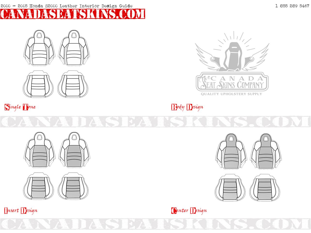 2000 2005 Honda S2000 Custom Leather Upholstery