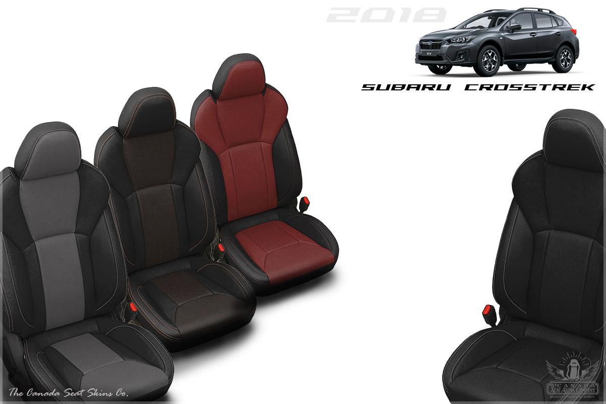 2018 2019 Subaru Crosstrek Custom Leather Upholstery
