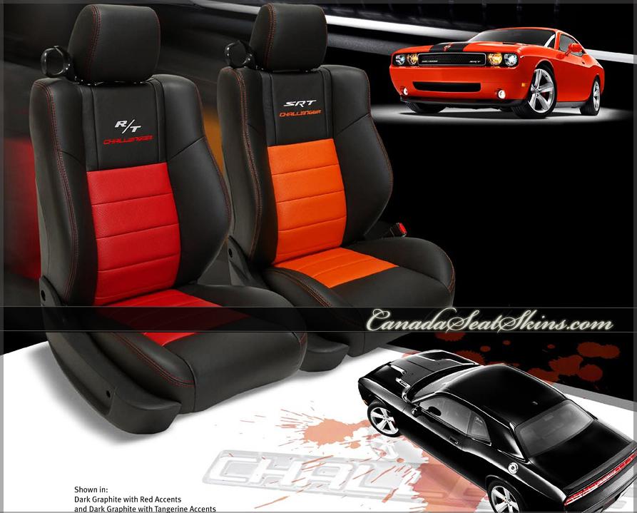 Dodge Challenger Custom Leather Sales Sheet