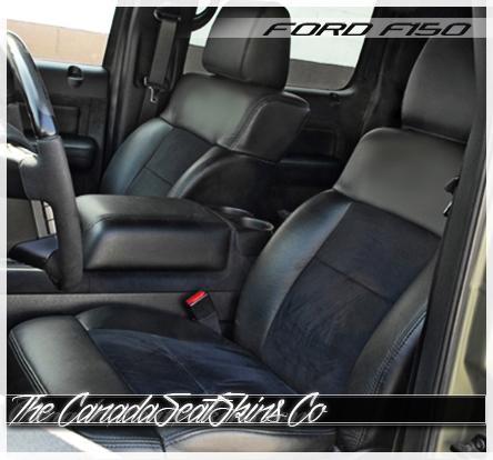 2004 2008 Ford F150 Katzkin Custom Leather Upholstery