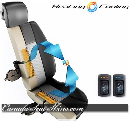 Katzkin Degreez Seat Cooling Systems