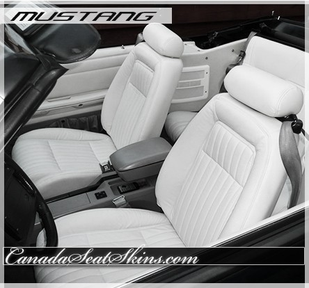 1987 1992 Ford Mustang Katzkin Leather Upholstery