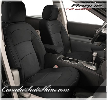 Nissan Rogue Seating >> 2008 2013 Nissan Rogue Custom Leather Upholstery