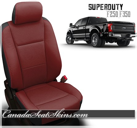 Fine 2017 2019 Ford Superduty Custom Leather Interiors Standard Caraccident5 Cool Chair Designs And Ideas Caraccident5Info