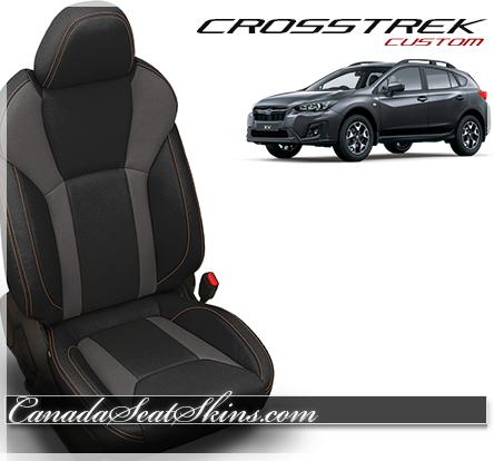 Tremendous 2018 2019 Subaru Crosstrek Custom Leather Upholstery Ibusinesslaw Wood Chair Design Ideas Ibusinesslaworg