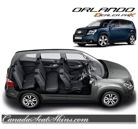 2012 2014 Chevrolet Orlando Dealer Pak Leather Upholstery Kits