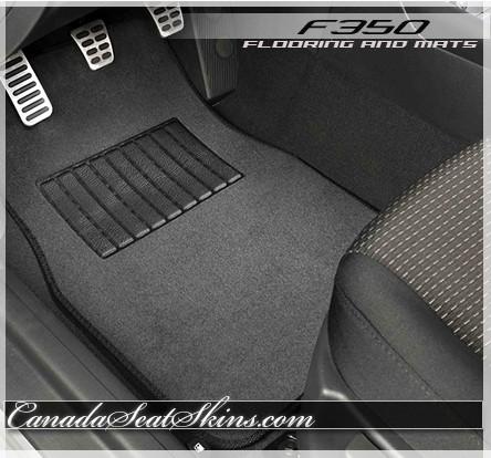 2008-2016 Ford F-350 Super Duty Crew Cab 4 Door Cutpile Factory Fit Carpet