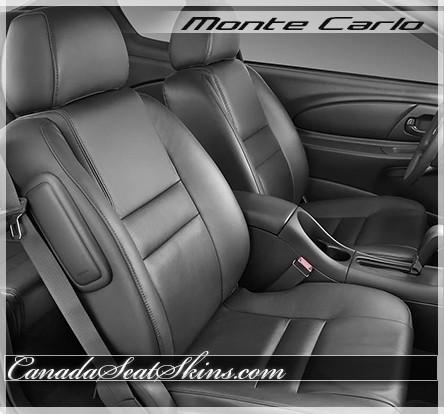 Strange 2006 2007 Chevrolet Monte Carlo Custom Leather Upholstery Inzonedesignstudio Interior Chair Design Inzonedesignstudiocom