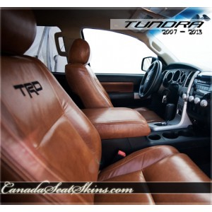 Toyota Tundra 100% Leather Seats in Amaretto