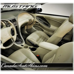 1994 - 2004 Ford Mustang Leather Seat Covers