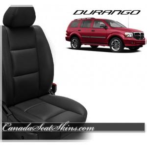 1998 - 2010 Dodge Durango Katzkin Black Leather Seats