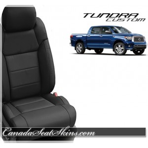 2015 Tundra Black Leather Promo with Raven Suede Accents