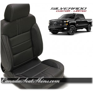 Chevrolet Silverado Black Limited Edition Leather Seats