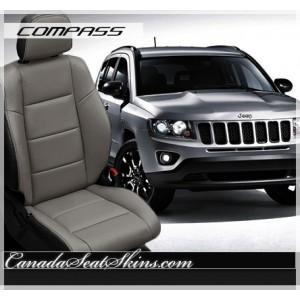 2014 - 2015 Jeep Compass Espresso Leather Seats