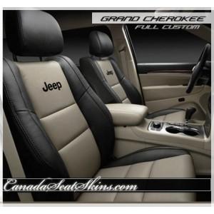 2011 - 2015 Jeep Grand Cherokee Leather Seats