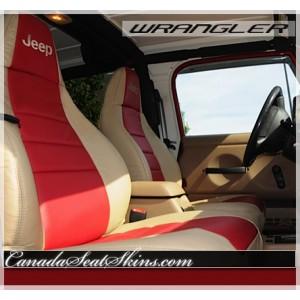 1997 - 2006 Jeep Wrangler Leather Seats