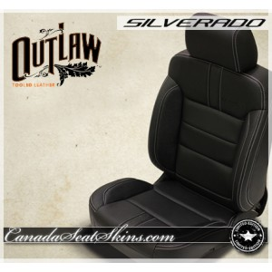 Silverado Katzkin Outlaw Limited Edition Leather Seats